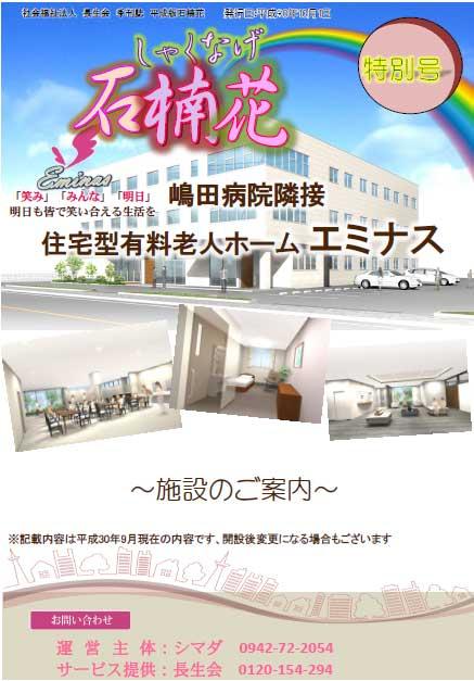 長生会季刊誌「石楠花」平成30年10月特別号(エミナス)