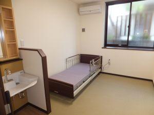 グループホーム あずま野施設 落ち着きの畳柄 居室